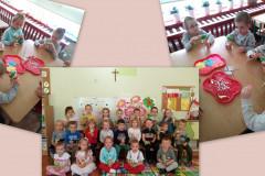 Jak przedszkolaki przygotowywały upominki na Święto Mamy