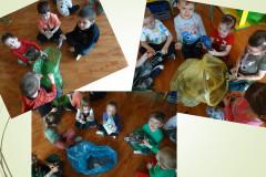 5-Dzieci-siedzac-w-grupach-przyporzadkowuja-odpady-do-wlasciwego-koloru-worka