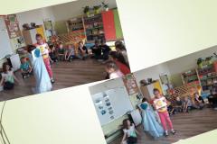7-Dziewczynki-z-grupy-VI-trzymajac-obrazki-nasladuja-ruch-Ziemi-wokol-Slonca