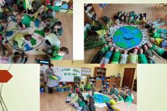 Dzieci-z-grupy-V-na-podlodze-wokol-namalowanej-Ziemi