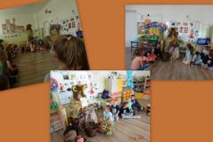 Pani Jesień odwiedza dzieci w przedszkolu