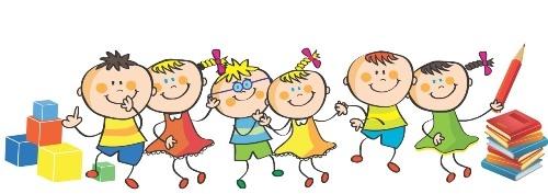 grafika przedstawiająca grupę dzieci.