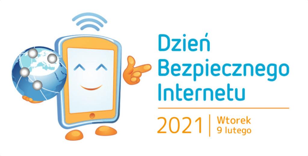 plakat promujący akcję Dzień Bezpiecznego Internetu 2021